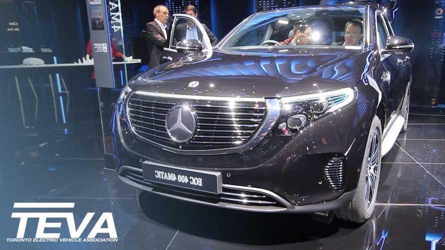 Mercedes-Benz EQC Interior Overview: Video