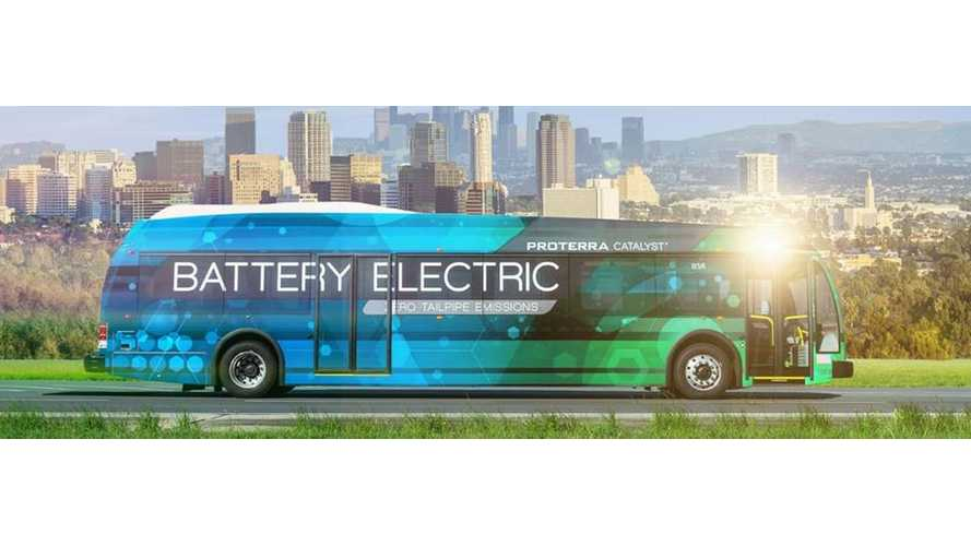 Proterra Opens New Electric Bus Factory In U.S. - Video
