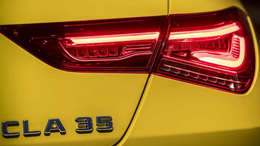 Mercedes-AMG CLA 35 teaser suggests full reveal is imminent