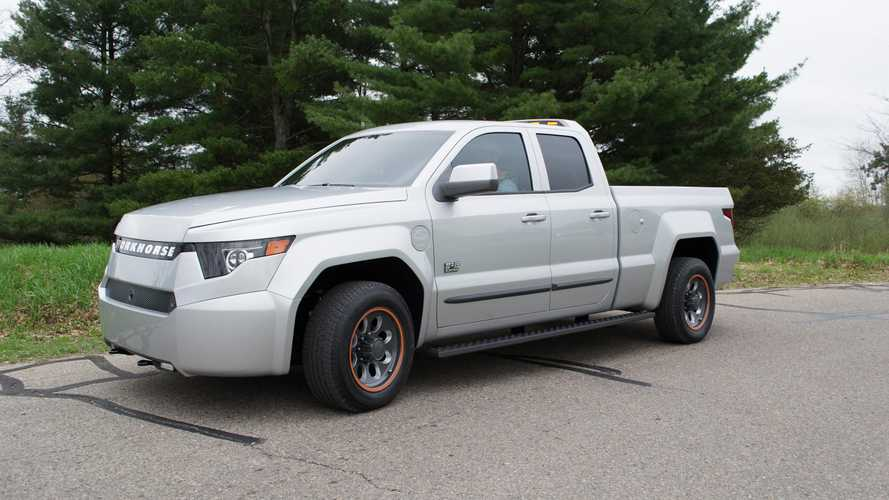 Workhorse W-15 PHEV Electric Pickup/80 Miles Range Revealed