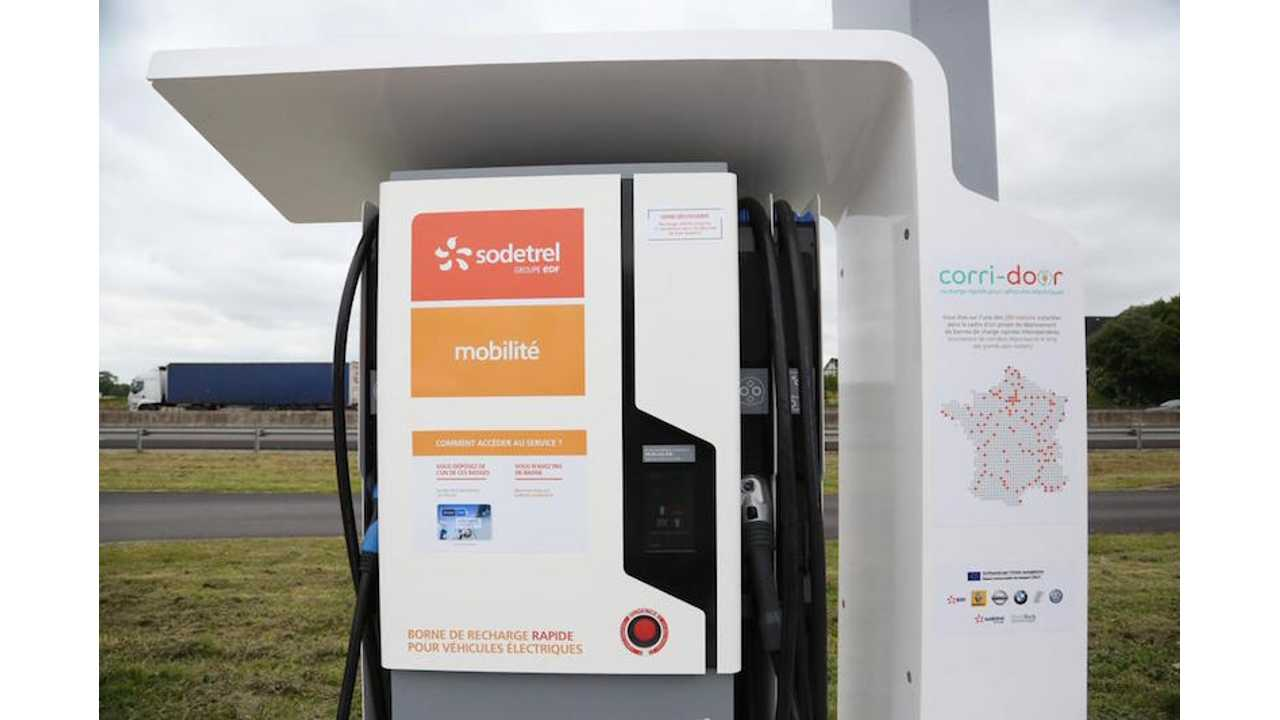 Corri-Door Charging Infrastructure Project Gets Underway In France (SODETREL via AVERE)