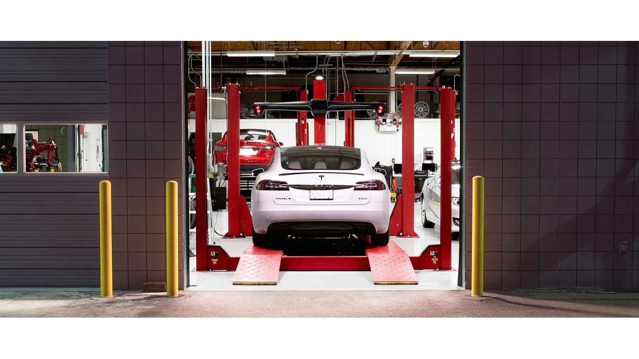 Tesla service Model S