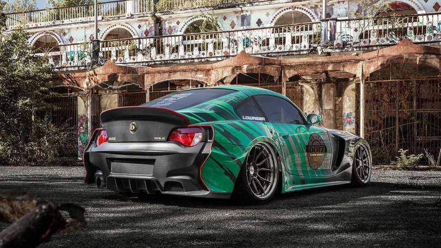 Cette BMW Z4 de plus de 600 ch a le moteur 2JZ de la Toyota Supra