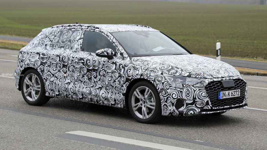 New Audi A3 spied in traffic looking production-ready