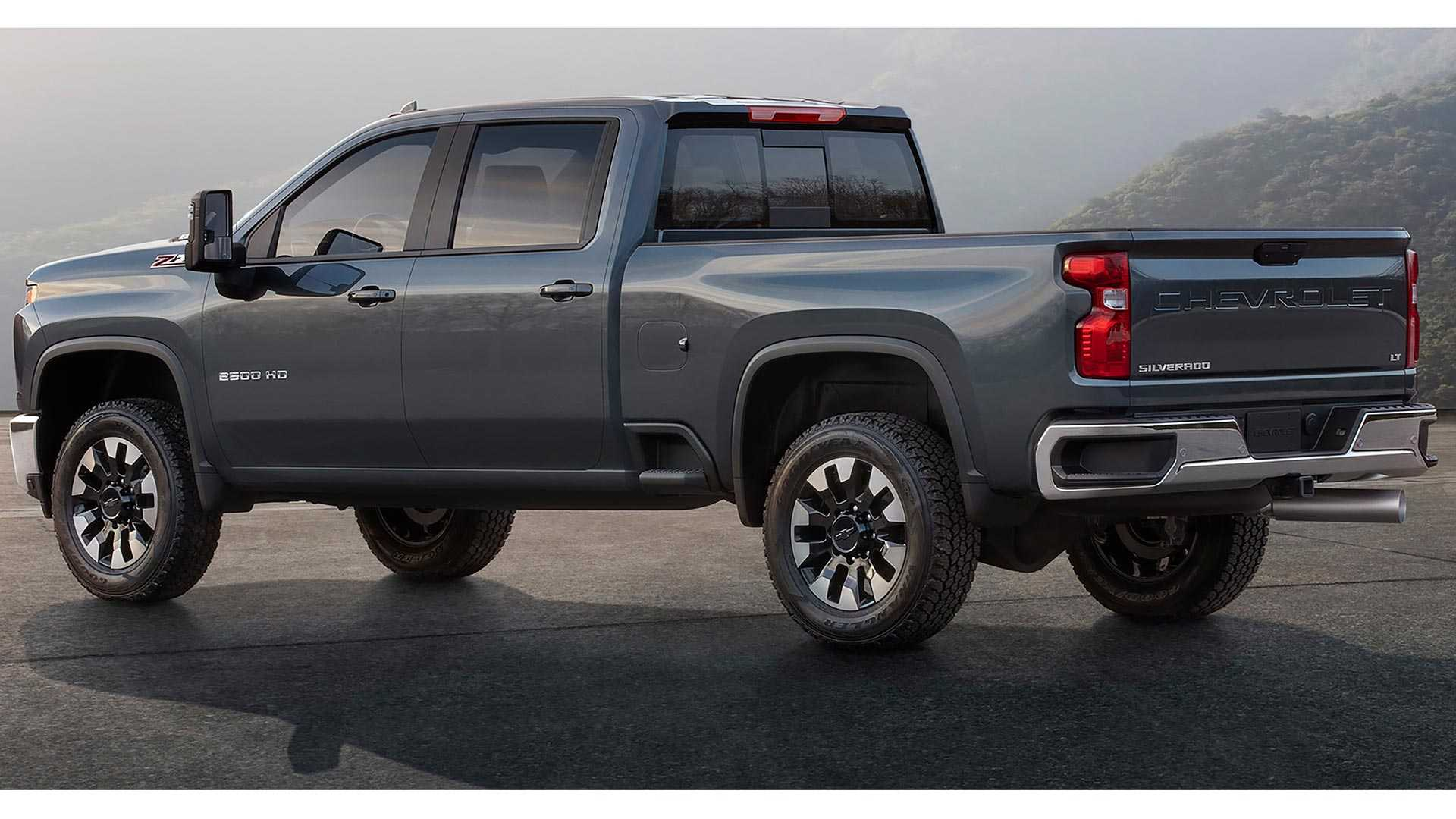 2020 Chevy Silverado Hd Unveiled Getting New V8 And Gearbox
