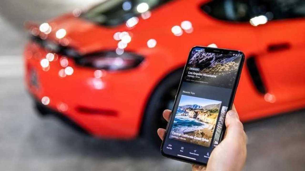 Application Porsche Road Trip