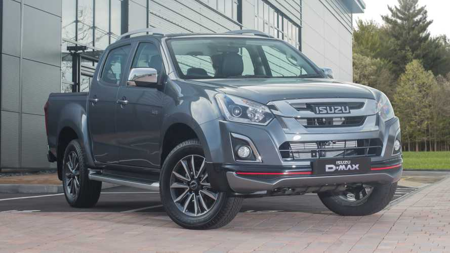 Isuzu reveals limited-edition D-Max Utah V-Cross pick-up