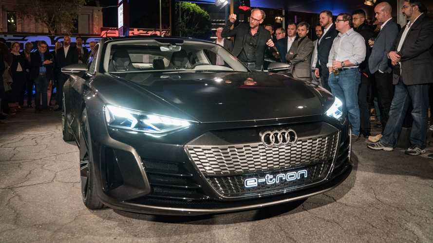 Audi e-Tron GT makes global debut in LA: packs mighty punch