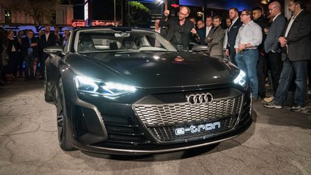 Audi e-Tron GT Makes Global Debut In LA: Packs Mighty Punch [UPDATE]