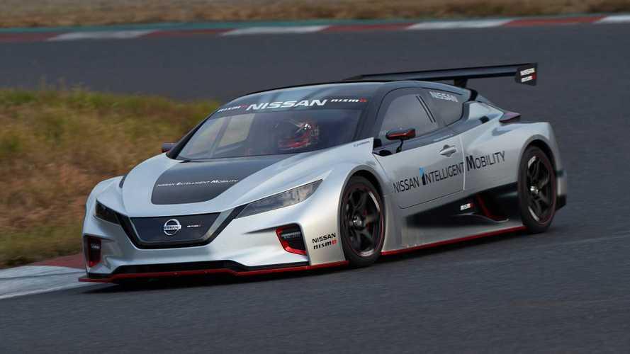 Nissan, yeni LEAF Nismo RC yarış otomobilini tanıttı