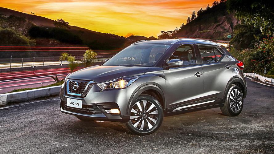 Com ajuda do Kicks, Nissan bate recorde de vendas na América Latina