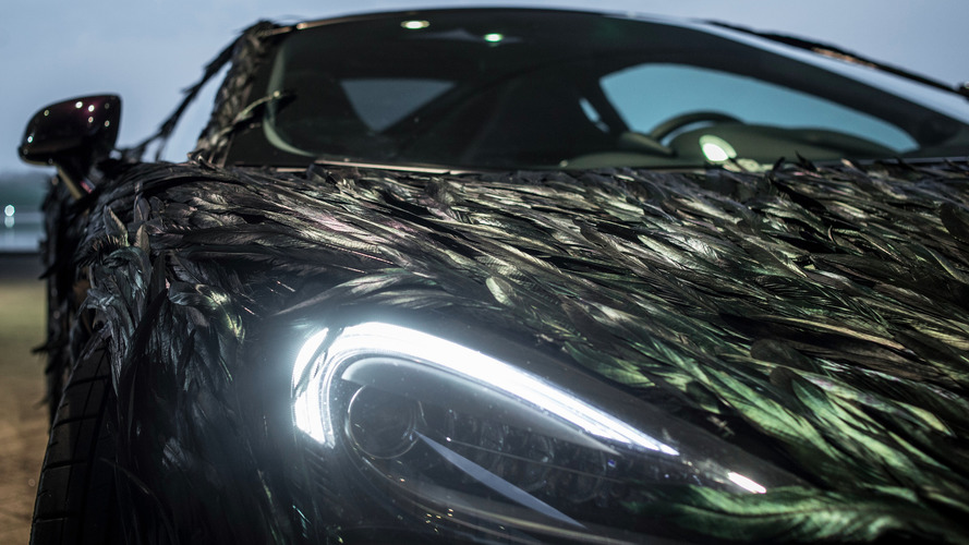 McLaren 570GT Feathered Wrap