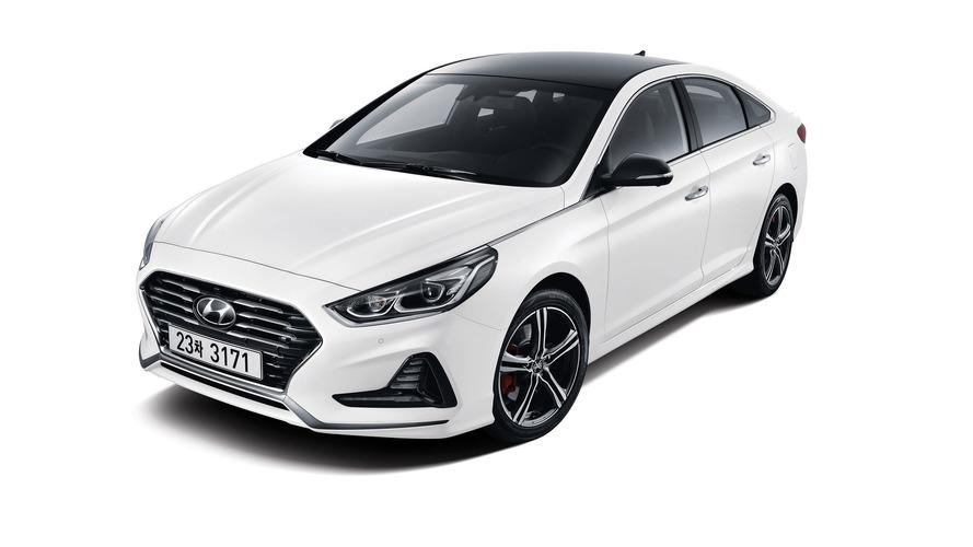 Makyajlı Hyundai Sonata Kore'de tanıtıldı