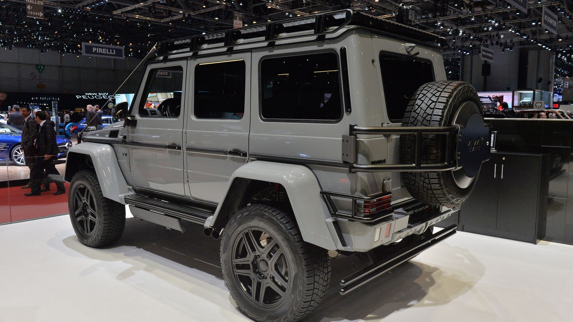 Brabus finds a way to make the Mercedes G500 4x4² more