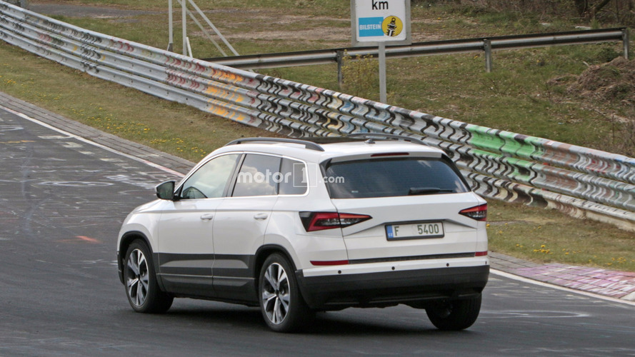 2018 Skoda Karoq spy photos
