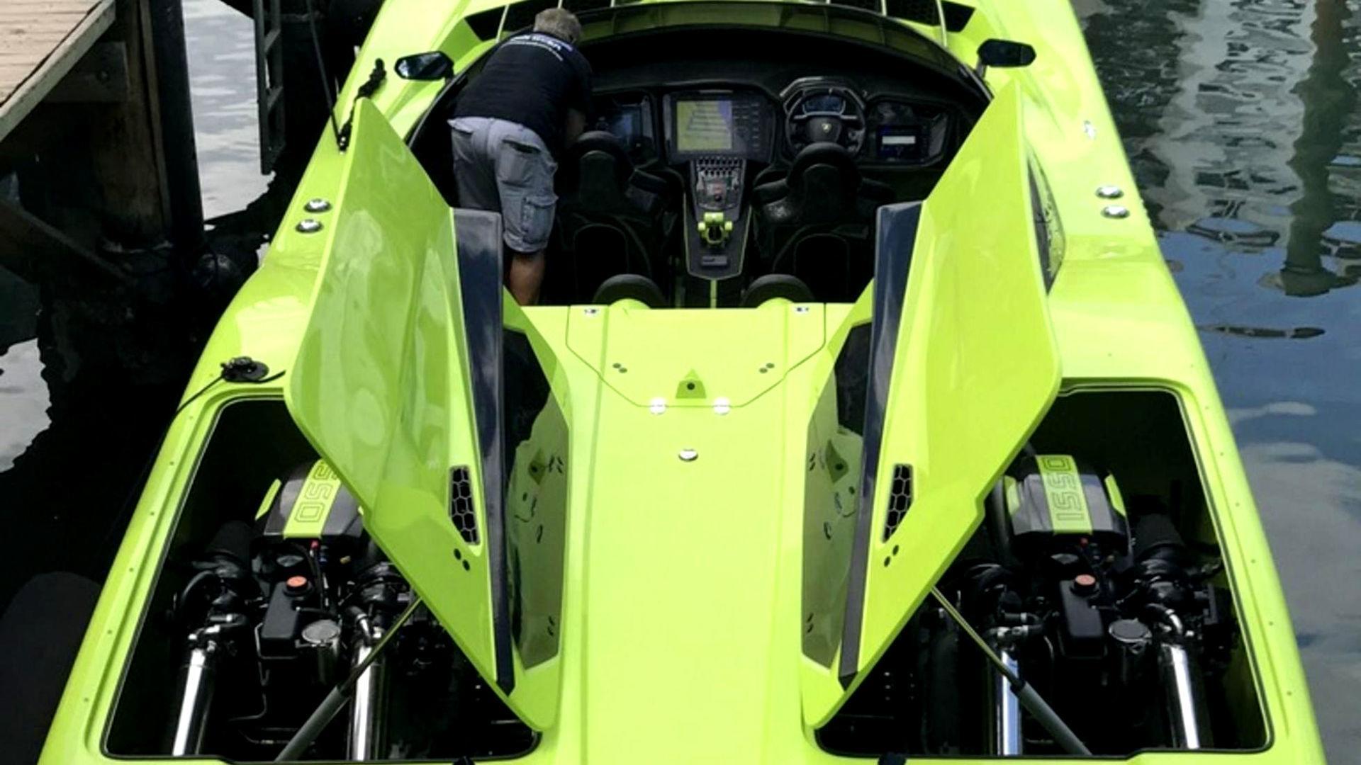 Buy This Lamborghini Aventador Sv Get A Matching Speedboat