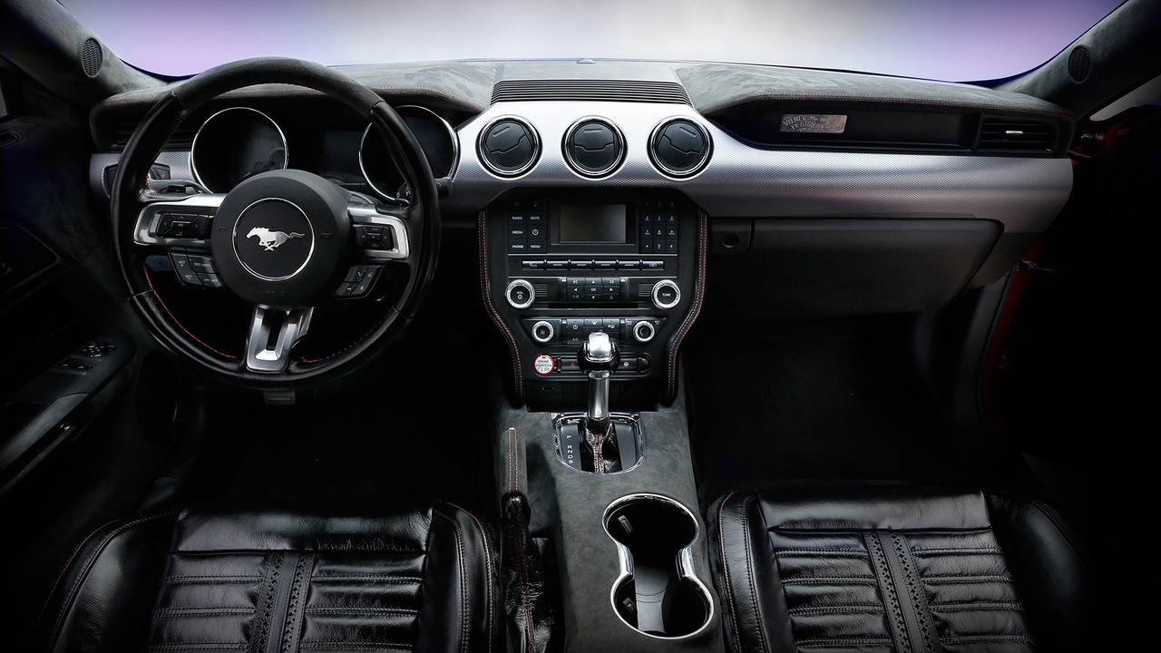Vilner'dan yabani at derisi kaplı Ford Mustang
