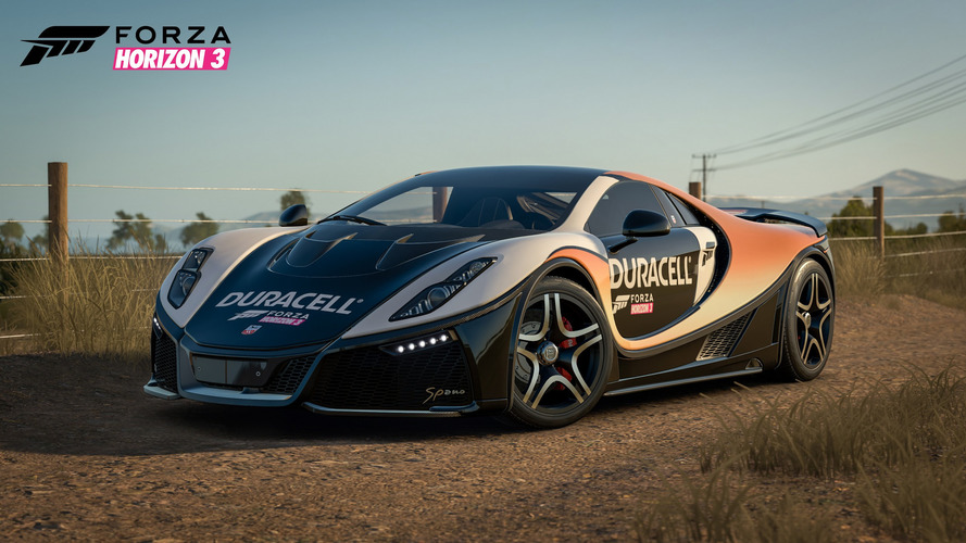 GTA Spano ücretsiz olarak Forza Horizon 3'te