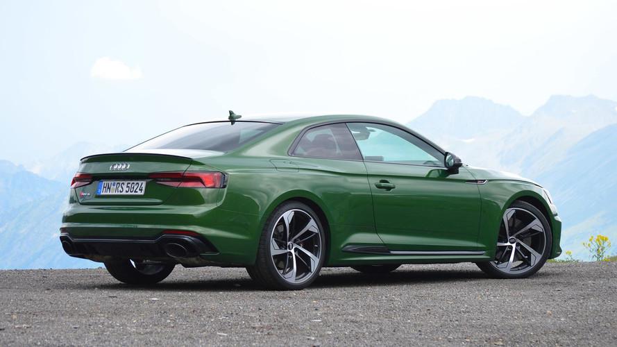 2018 Audi RS5 Coupe: İlk Sürüş