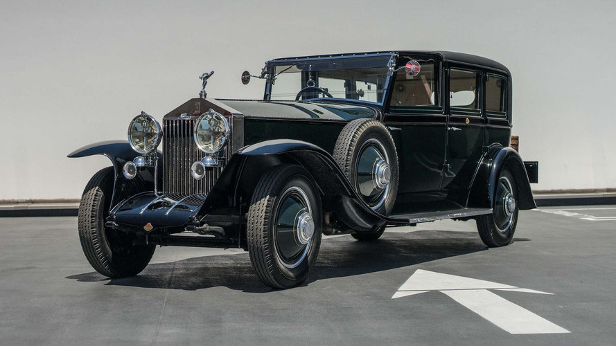Fred Astaire's 1927 Rolls-Royce Will Help Usher In Next-Gen Phantom