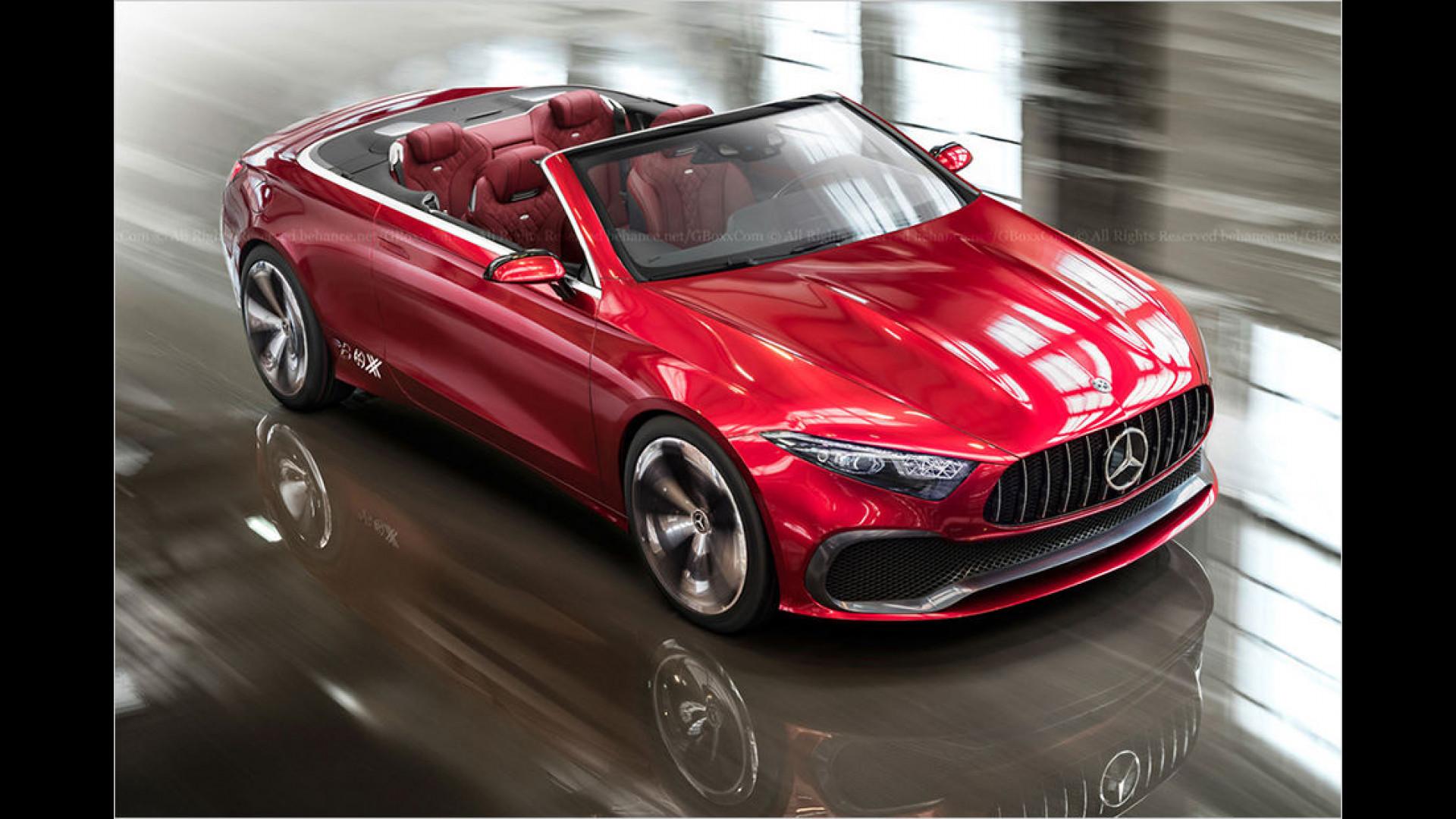 Kommt das A-Klasse Cabrio? | Motor1.com Bilder