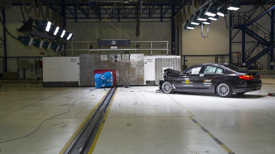 2017 BMW 5 Series Euro NCAP Crash Test