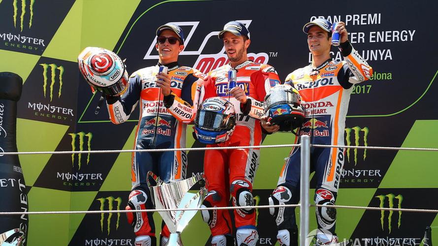 Dovizioso también gana en Montmeló y pone el Mundial de MotoGP al rojo vivo