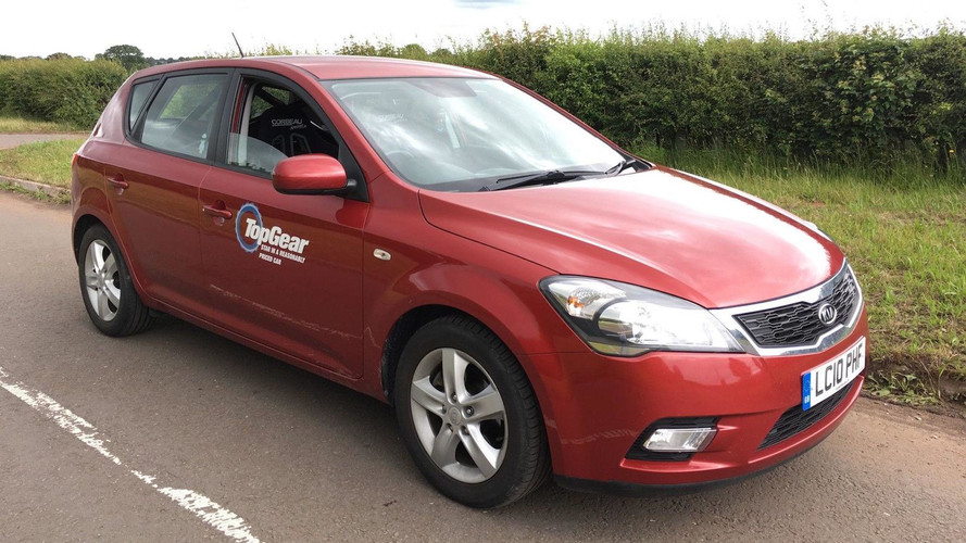 Top Gear's Reasonably Priced Kia Cee'd For Sale On eBay