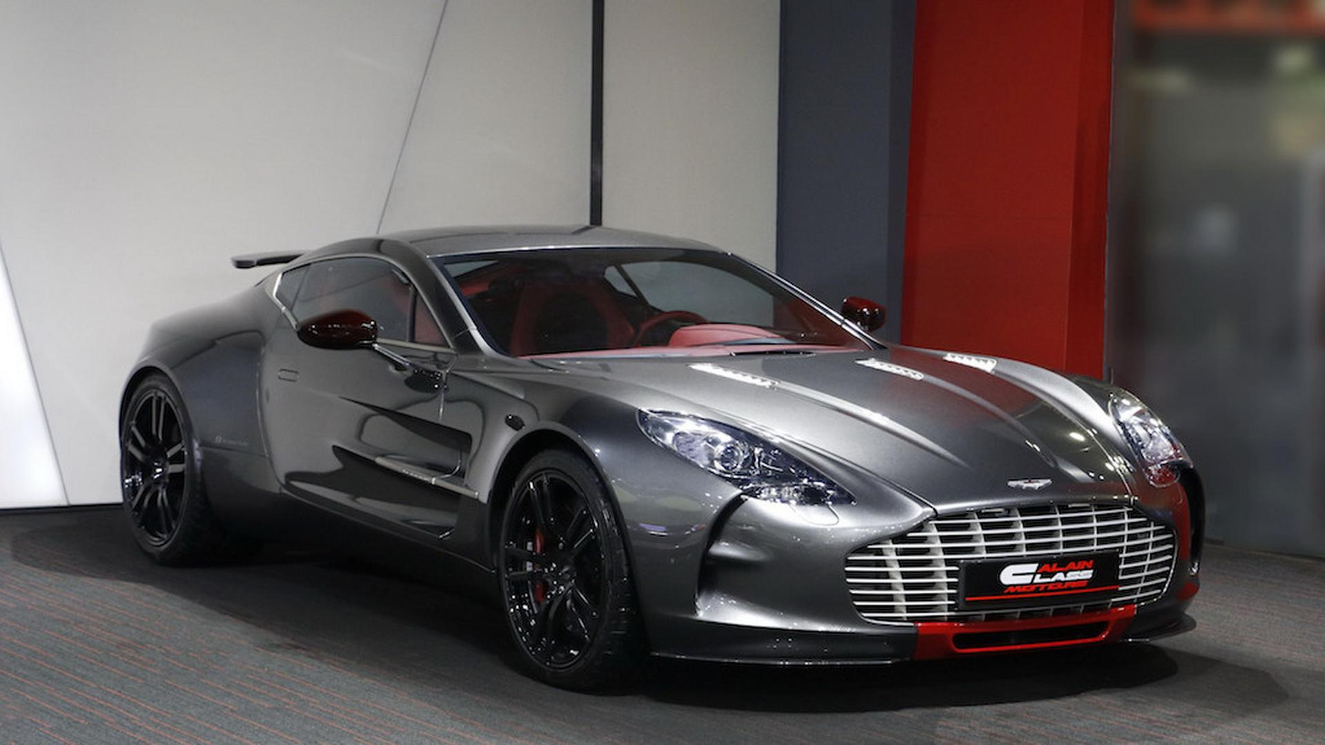 Aston Martin One-77 For Sale >> Barely Used Aston Martin One 77 Q Series Needs A New Home