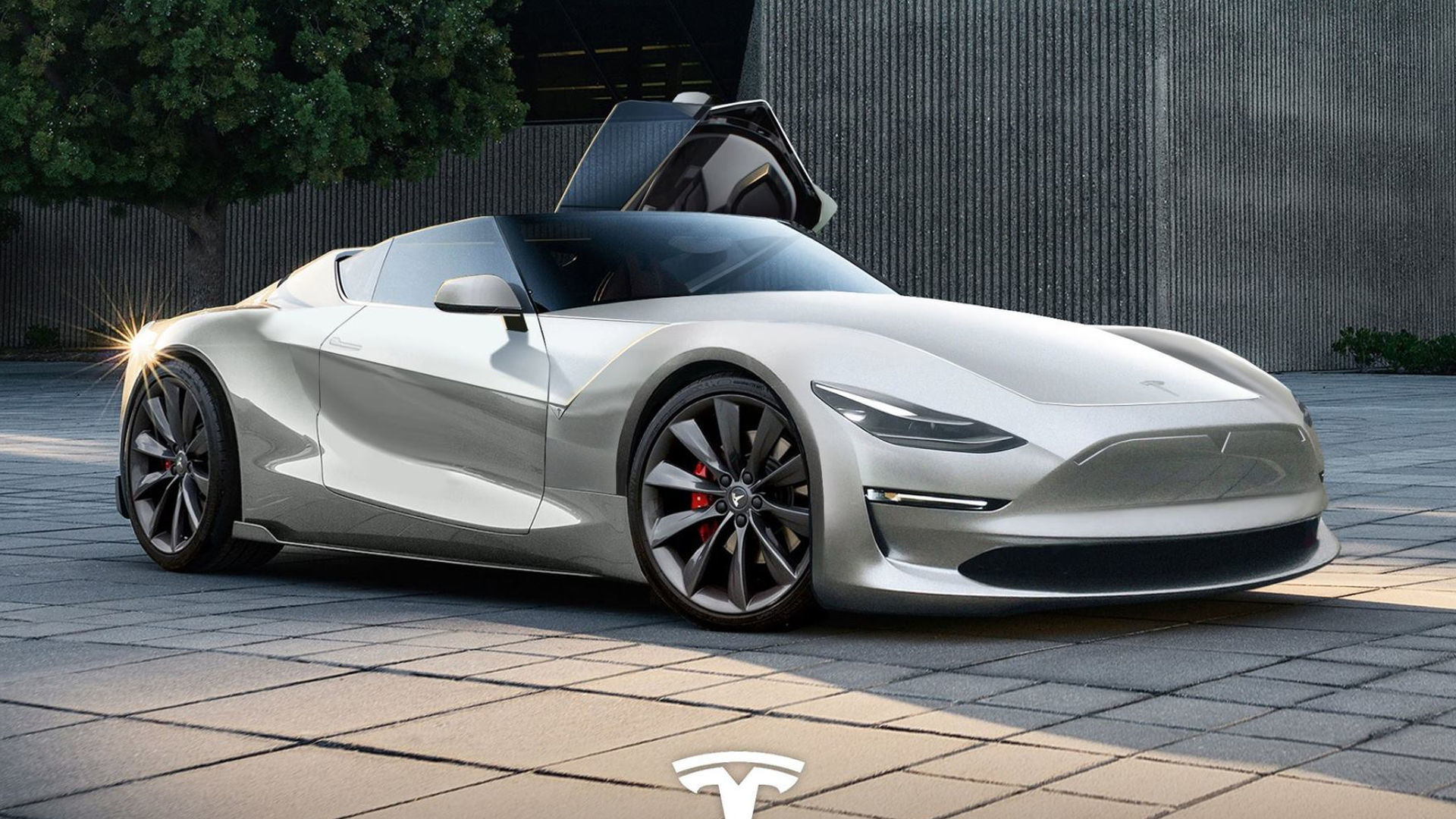 New Tesla Roadster >> We Hope The 2019 Tesla Roadster Looks This Good