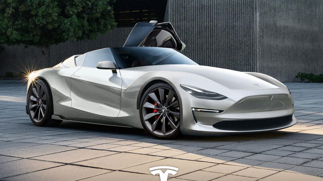 2019 Tesla Roadster Rendering