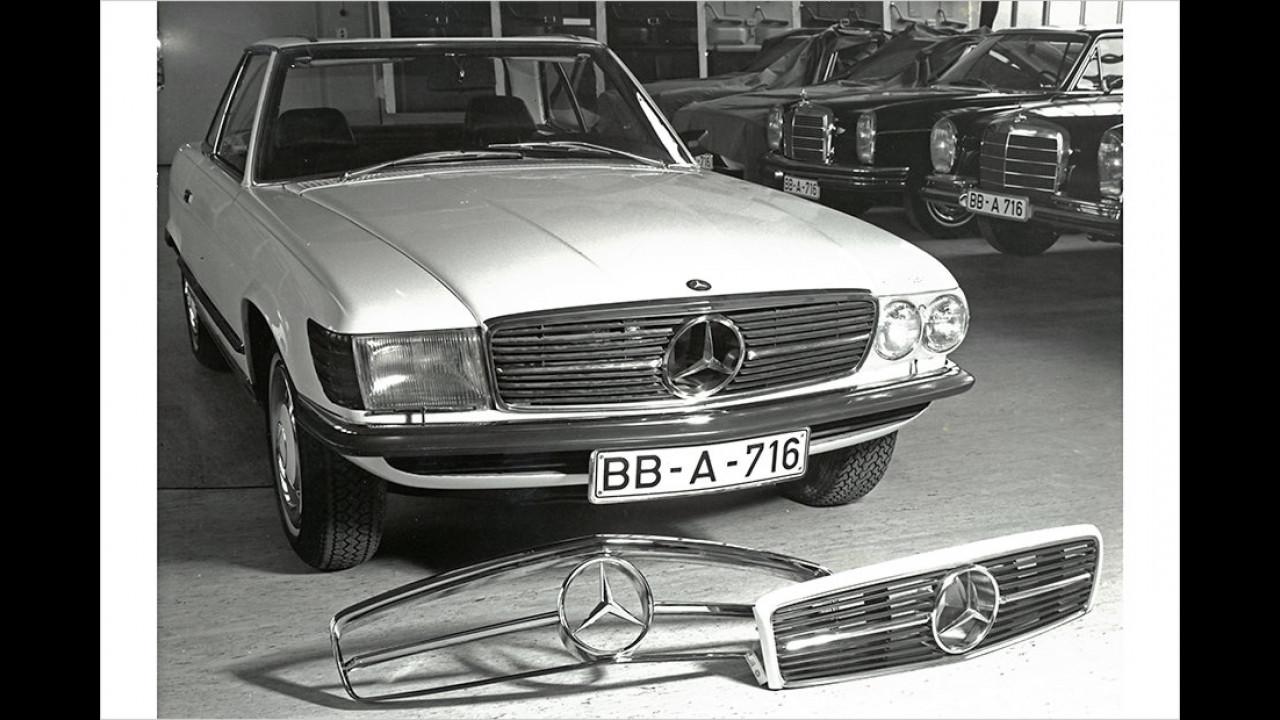 Mercedes SL (R107) mit Wankelmotor