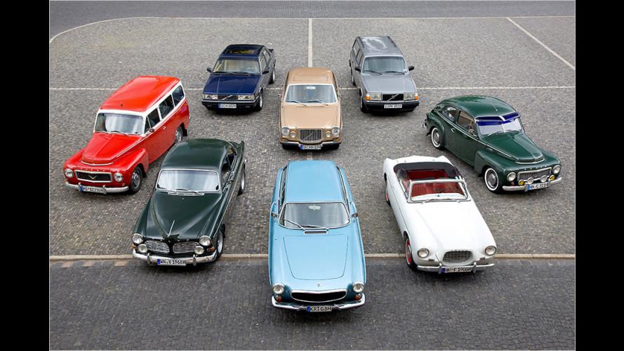 Volvo-Historie: Die wichtigsten Modelle aus 90 Jahren
