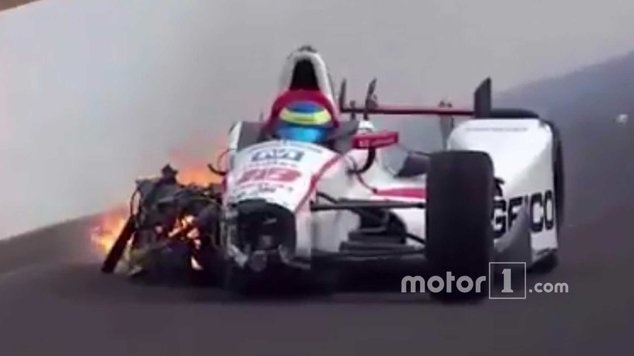 Indy 500: Bourdais Suffers Huge Crash In Qualifying