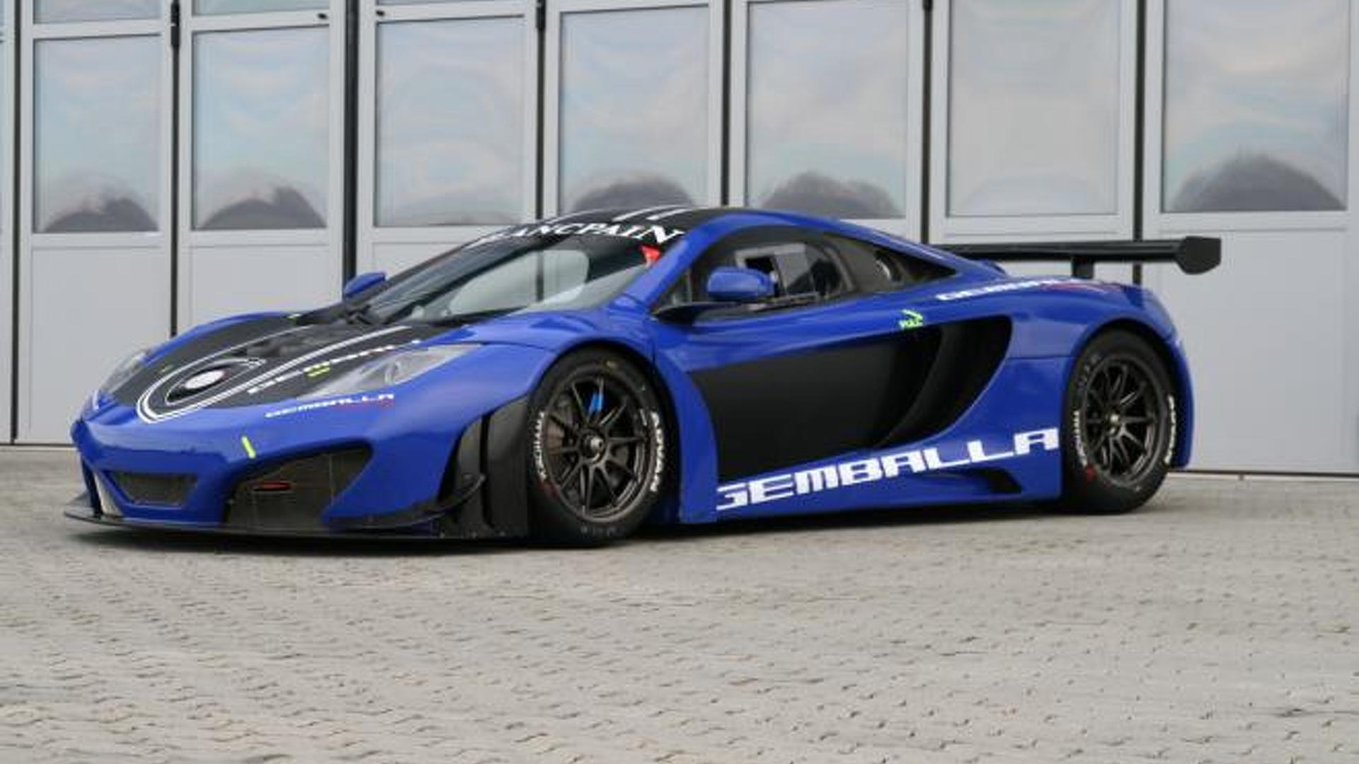 2012 mclaren mp4-12c gt3gemballa racing up for sale