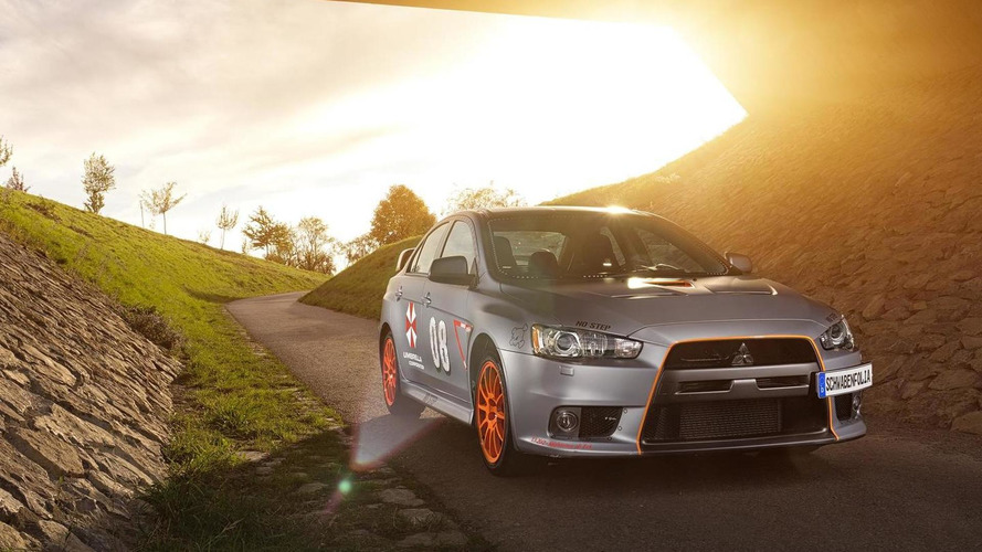 Mitsubishi EVO X gets power boost and foliation