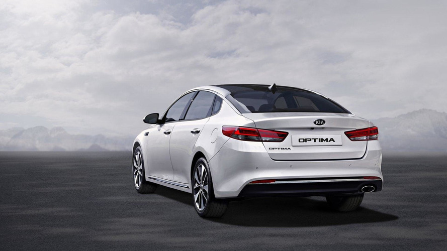 2016 Kia Optima starts at £21,495 in UK