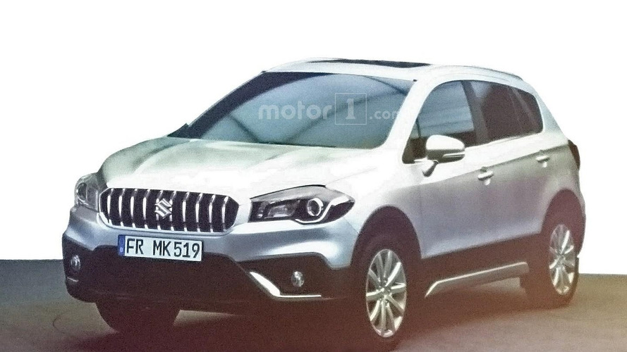 Suzuki SX4 S-Cross facelift leaked via dealer presentation