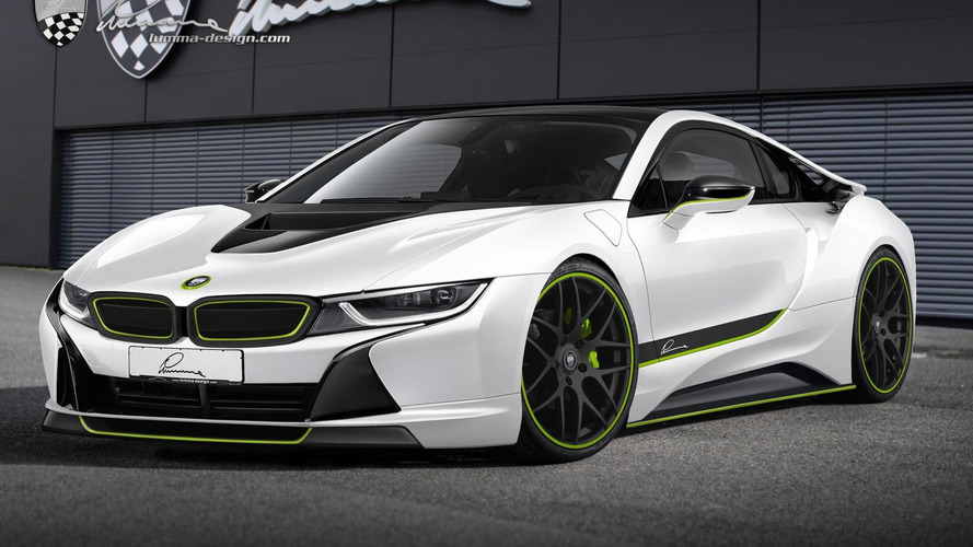 Lumma Design shows off the CLR i3 & CLR i8 concepts