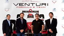 Leonardo DiCaprio & Venturi Formula E announcement 09.12.2013