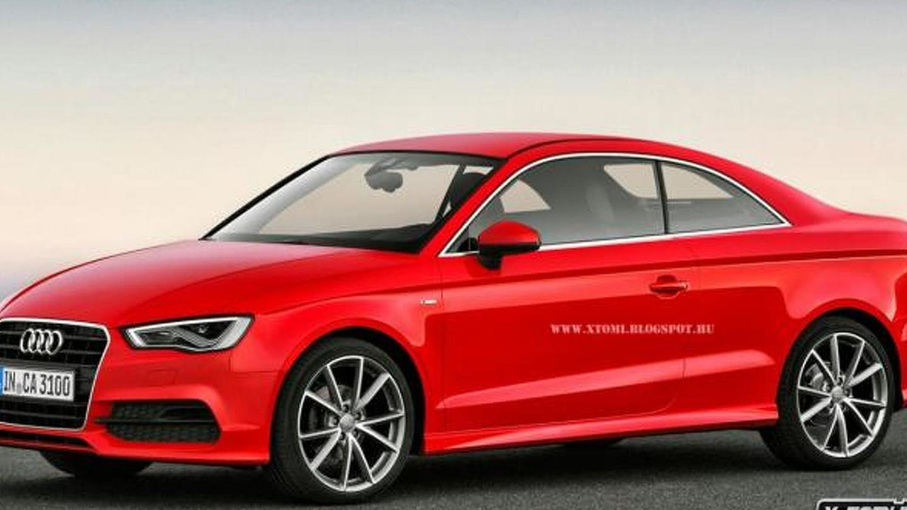 Audi A Coupe Gets Rendered - Audi s3 coupe