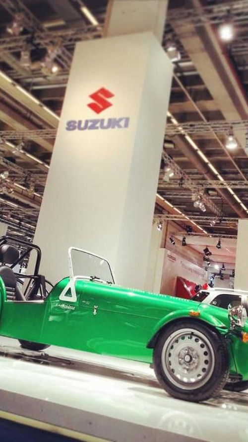 Caterham Seven 165 races into Frankfurt