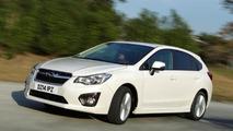 Subaru Impreza UK-spec