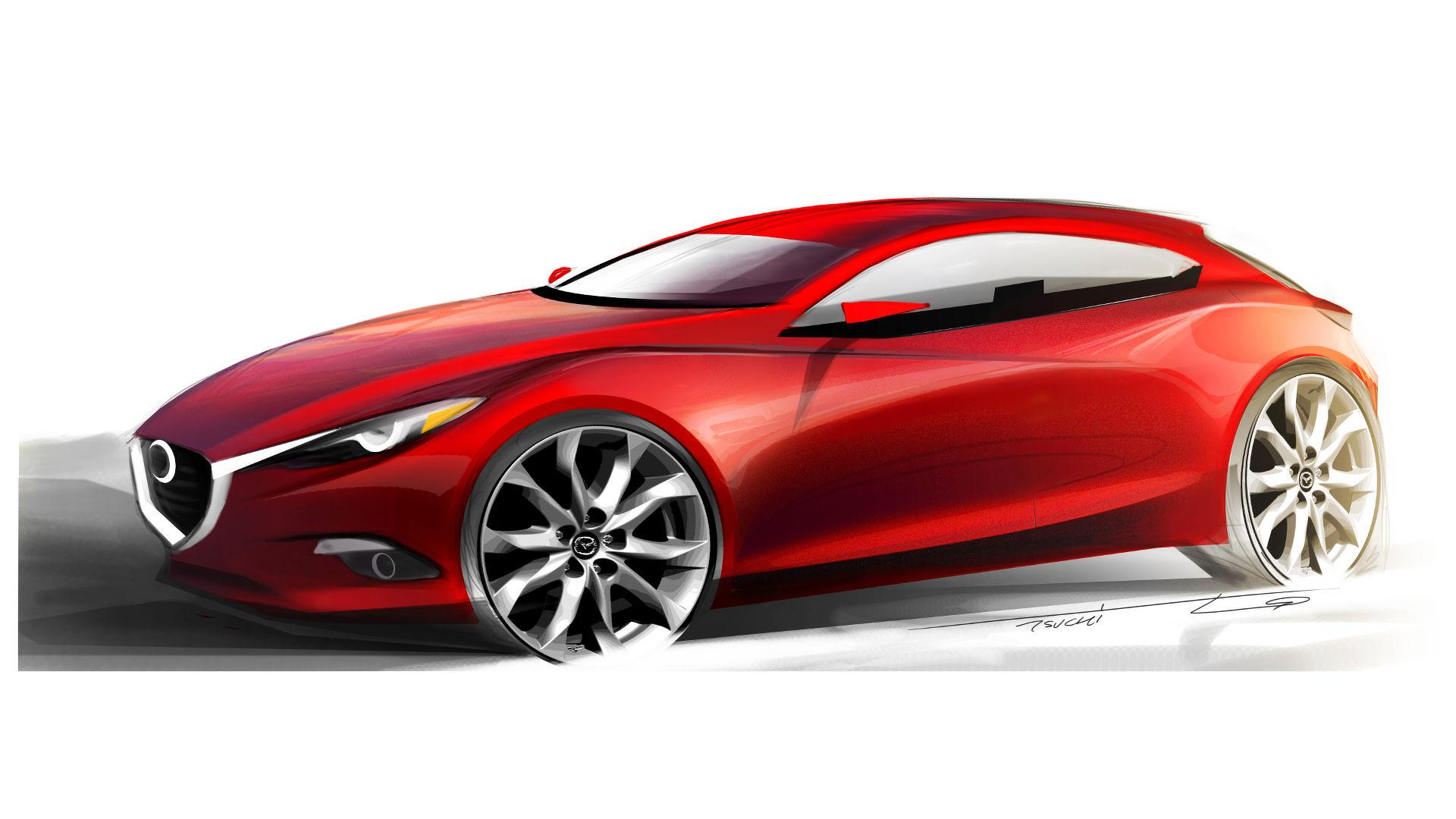 Next Gen Mazda3 With Sparkless Ignition Tech Coming To Frankfurt