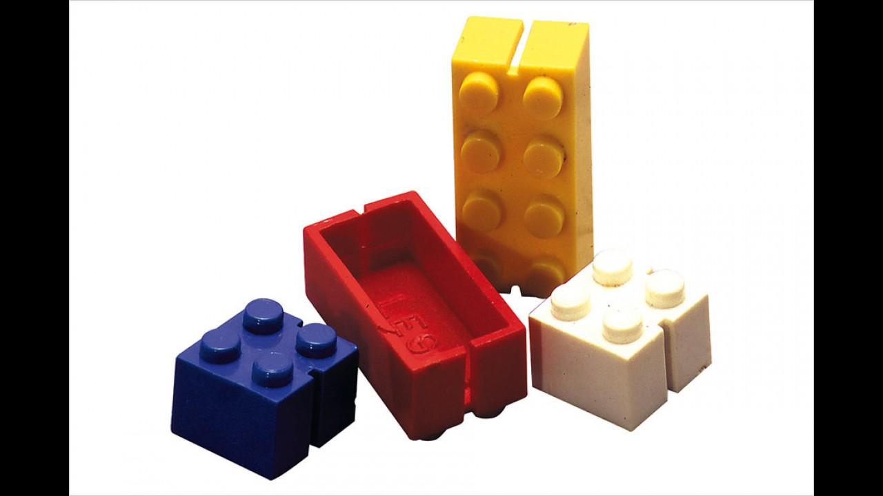 Die ersten Legosteine