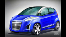 Futuristischer Minivan