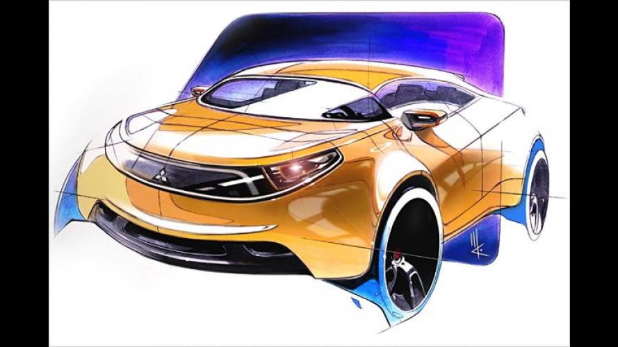 Mitsubishi in Detroit: Ein Hybridauto und der Eclipse Spyder