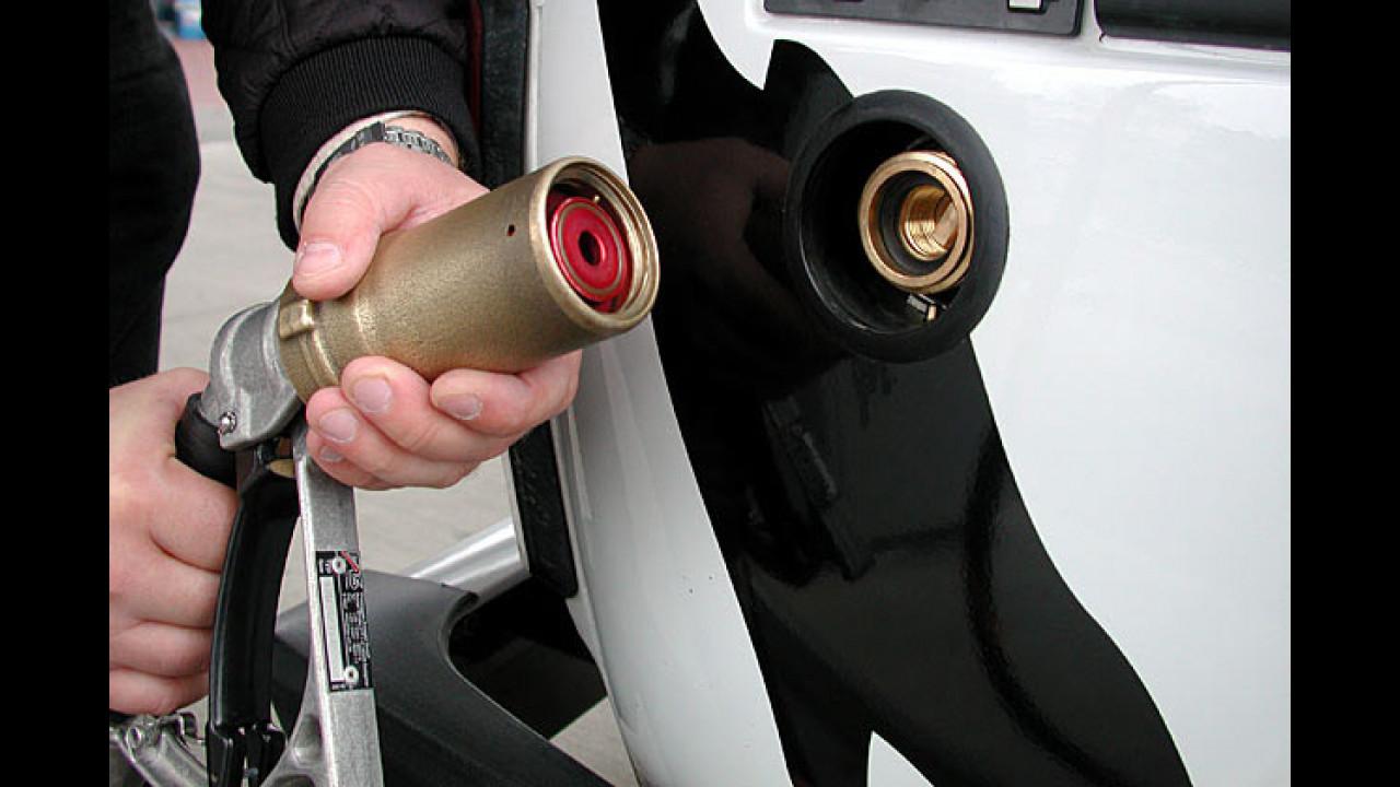 Autogas bleibt länger günstig