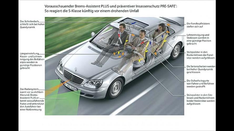 Die neue Mercedes S-Klasse: Sternstunde für die Sicherheit