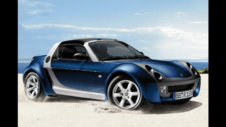Sparen und Schluss: Smart verkauft die letzten Roadster